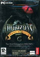 Horizons Empire of Istaria - Brand New Sealed DVD Box - PC MMORPG
