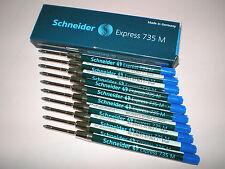 10x Schneider Express 735 M blau G2-Format Großraummine 7363 NEU&OVP