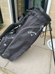 """CALLAWAY """"HYPER LITE 2"""" CARRY/STAND BAG, WELL USED,SUIT BEGINNER."""