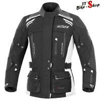 """Büse """"Highland"""" Damen-Motorradjacke in Größe 36 38 40 oder 42, Schwarz-Hellgrau"""