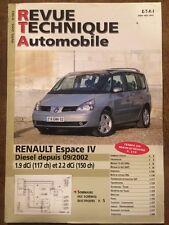 Revue Technique RENAULT Espace IV diesel 1,9 dCi (117ch) et 2,2 dCi (150ch)
