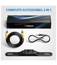 eRapta ERT01 Waterproof Car Backup Camera with Night Vision and Auto Lighting