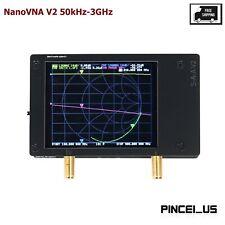NanoVNA V2 50kHz-3GHz Vector Network Antenna Analyzer For Shortwave HF VHF UHF