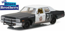 GREENLIGHT The Blues Brothers 1974 Dodge Monaco Bluesmobile  1/24 DIECAST 84011