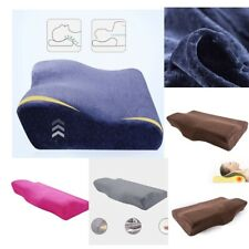 MEMORY FOAM PILLOW ORTHOPAEDIC FIRM HEAD NECK BACK SUPPORT PILLOW SWEET SLEEP