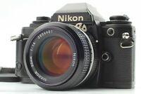 [EXC+++++] Nikon FG 35mm SLR Black Film Camera w/ AI 50mm f/1.4 Lens From Japan