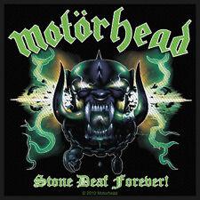 MOTÖRHEAD - Aufnäher Patch - Stone Deaf Forever 10x10cm