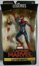 """MARVEL LEGENDS Captain Marvel (Masked) - BAF - Action Figur - 6"""" / 15 cm"""