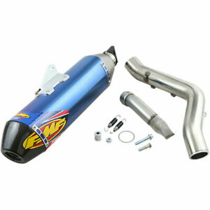 FMF Factory 4.1 RCT Slip-On Muffler Blue Yamaha YFZ450R/YFZ450X - [044400]