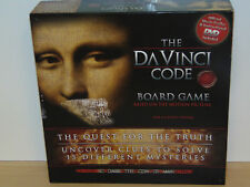 The DaVinci Code Board Game-The Quest for the Truth-RoseArt 2006-Complete Ex Con