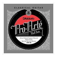 DAddario Silver Copper Nylon Core Classical Guitar Half Set Normal Tension