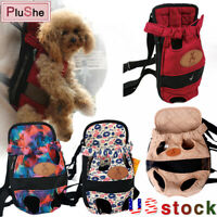 Pet Dog Carrier Legs Out Backpack Adjustable Front Cats Pets Mesh Travel Carrier