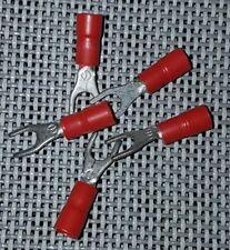 CAPICORDA  PREISOLATO A FORCELLA RF-U4 CEMBRE ROSSO Ø 3,2mm 0,25-1,5mmq  50Pz
