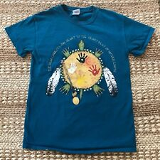 Earth Day Unisex Small T-Shirt Lakota Indians Poem Turtle Mother Earth Nice A26