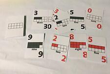 Ten-frame Card Deck Of 44 - Homeschool Pre-school- Kindergarten�