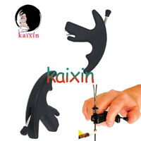 1X Archery Release Aids Compound Recurve Bows Shooting Tool Bow Assist Black