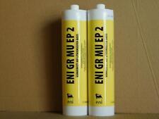 9,90€/kg ENI GR MU EP2 Schmierfett 2 x 500 g Kartuschen + 2-Handfettpresse