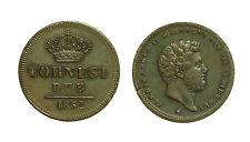 pci3238) Napoli Regno delle Due Sicilie Ferdinando II - 2  tornesi 1852