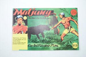 Matjung Master Des Jungle - No. 1 Comic Piccolo Reproduction Jupiter Verlag