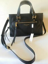 Marc Jacobs M0015021 Pebbled Leather Handbag with Sling - Black