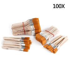 NEU Pinselset 100-tlg. Malerpinsel Flachpinsel Lackpinsel Eckenpinsel Satz