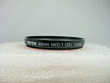 Tiffen 49mm Red 1 (25) Filter w/ Case