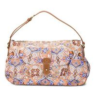 *NEW* Oilily MOSAIC SHOULDER BAG Purse in Fig