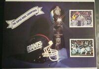 "New York Giants ""The 1986 Super Bowl Champions' 1987-1988 Calendar RARE W/Poster"