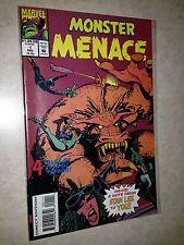 Monster Menace 1 Marvel comics reprint monster comics