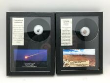 RARE 9 Piece Meteorite / Meteor Display Collection - 9 Rare Pieces