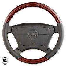 Mercedes Benz W201 W124 C W202 E W210 S W140 SL R129 AIRBAG LENKRAD WURZELHOLZ