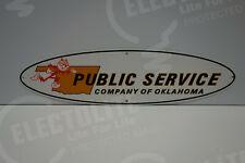Reddy Kilowatt PUBLIC SERVICE COMPANY OF OKLAHOMA DIE CUT ELECTRICIAN GIFT