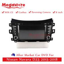 "8"" Car DVD GPS Navigation Head Unit Stereo For Nissan Navara D23 2015-2018"