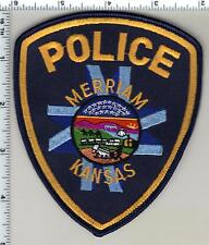 Merriam Police (Kansas) uniform take-off patch from 1996