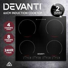 Devanti CT-IN-800 60cm 4 Burner Electric Induction Cooker - Black