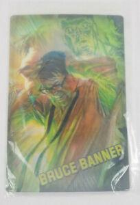 Hulk Bruce Banner Lenticular Print 3D Hologram Loot Crate June 2018 Marvel