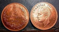 2  Centesimi 1903  FDC  rosso  sig./periz.to