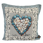 Cuscino Arredo per Divano Emily Home Stone Patch in Gobelin 45 x 45 cm