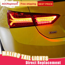 For Chevrolet Malibu LED Taillights Assembly Red LED Rear Lamps 2016-2019