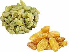 Dry Fruit Pack - Golden Sultana 150g - Green Raisins 150g (2 Pack)