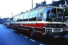 Photobus 35mm Bus Slide,OK Motor Services Duple/Leopard APT156L,Bishop Auckland