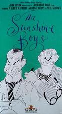 THE SUNSHINE BOYS - GEORGE BURNS / WALTER MATTHAU - VHS TAPE - STILL SEALED
