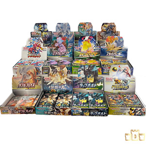 (5) Japanese Pokemon Booster Pack Grab Bag (No Duplicates) USA Shipping