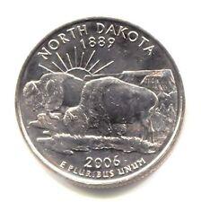 North Dakota Buffalo State Quarter 2006 D Coin Denver Mint