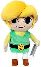 "Official 12"" HD Link Stuffed Plush - Legend of Zelda Wind Waker Little Buddy USA"