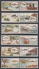 More details for cigarette cards faulkner 1929 angling - complete set