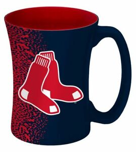 Boston Red Sox 14oz Coffee Mug MLB Mocha Style
