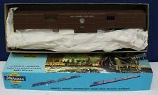 Athearn 1141 HO MOW Work Train Baggage Car Kit B&O Tuscan NIB Blue Box