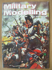 MILITARY MODELLING MAGAZINE JUNE 1974 BRITISH ARMY VEHICLE COLOUR SCHEMES WWII