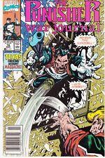 PUNISHER WAR JOURNAL #16 1989 MARVEL by STAN LEE BARON/HANSEN -MASSACRE...VF